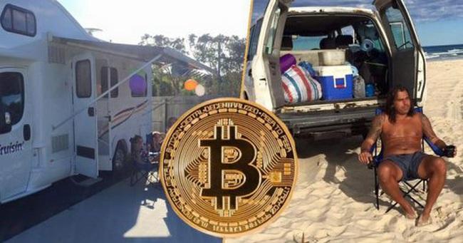 Được ăn cả ngã về không, ông bố ba con bán tất cả những gì mình có để đầu tư vào bitcoin