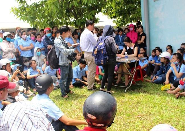 Quảng Nam: 700 công nhân ngưng việc do chậm lương