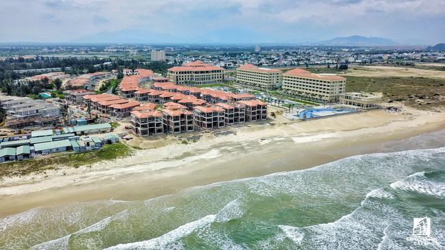 Cận cảnh khu tổ hợp khách sạn nghìn tỷ Sharaton Đà Nẵng nhìn từ trên cao vừa mới đổi chủ - ảnh 1