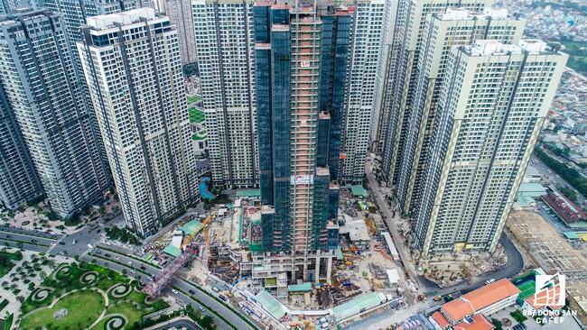 Toàn cảnh công trường xây dựng Tổ hợp dự án tòa nhà cao nhất Việt Nam