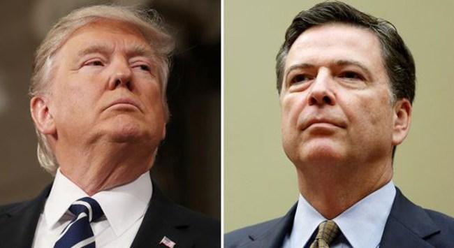Tổng thống Mỹ Donald Trump nêu lý do cách chức Giám đốc FBI Comey