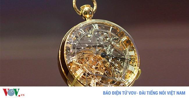 Những mẫu đồng hồ đắt đỏ trên thế giới
