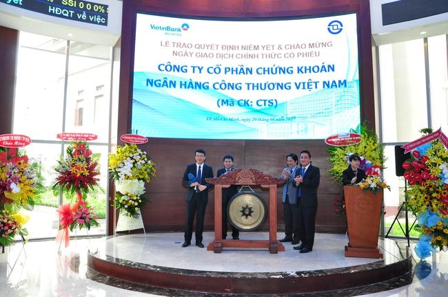 Vừa chuyển sàn, VietinbankSC lại sắp phát hành hơn 7 triệu cổ phiếu trả cổ tức cho cổ đông