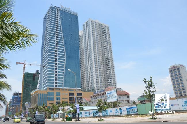 Cận cảnh Tổ hợp khách sạn và căn hộ Mường Thanh 42 tầng tại Đà Nẵng xây dựng sai phép