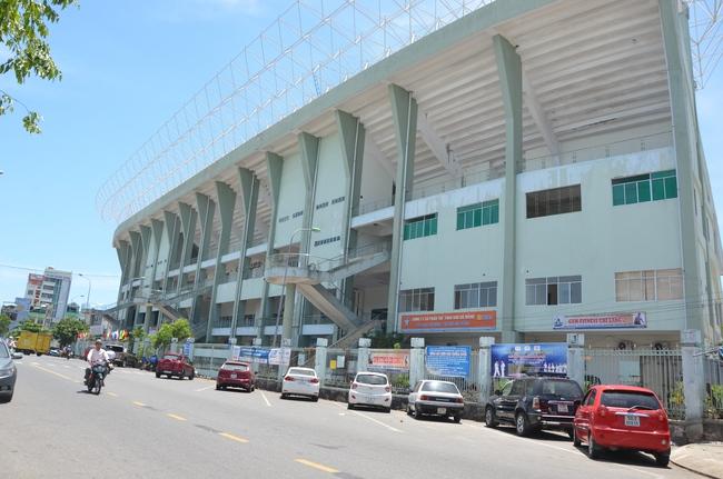"""Cận cảnh khu """"đất vàng"""" sân vận động Chi Lăng (Đà Nẵng) sẽ phá bỏ để xây tổ hợp 8 cao ốc 33 tầng"""