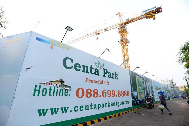 Tái khởi động dự án Centa Park sau một thời gian dài dừng thi công