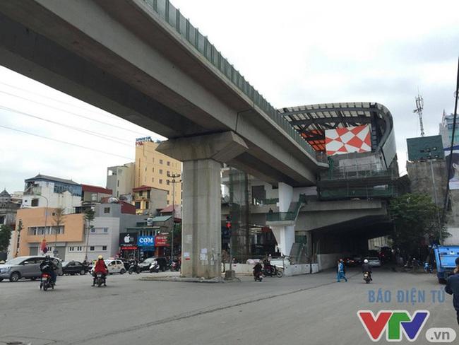 Dự án đường sắt trên cao Cát Linh - Hà Đông chậm tiến độ