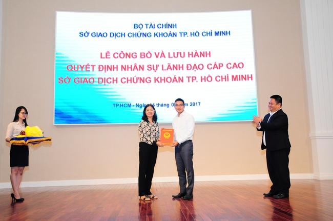 Ông Lê Hải Trà chính thức được bổ nhiệm làm người đứng đầu HoSE