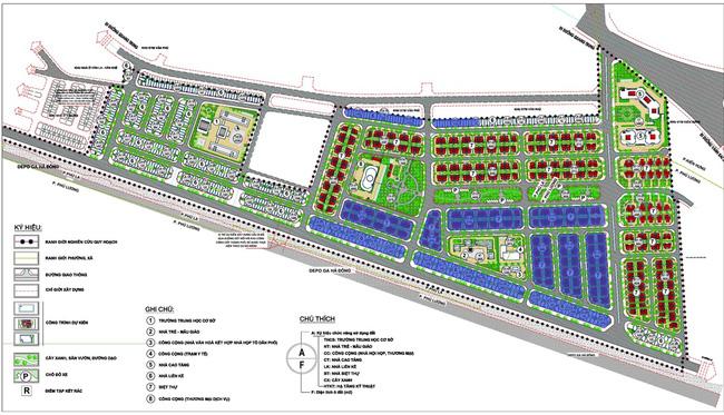 Hà Nội: Duyệt điều chỉnh quy hoạch chi tiết Khu đô thị mới Phú Lương