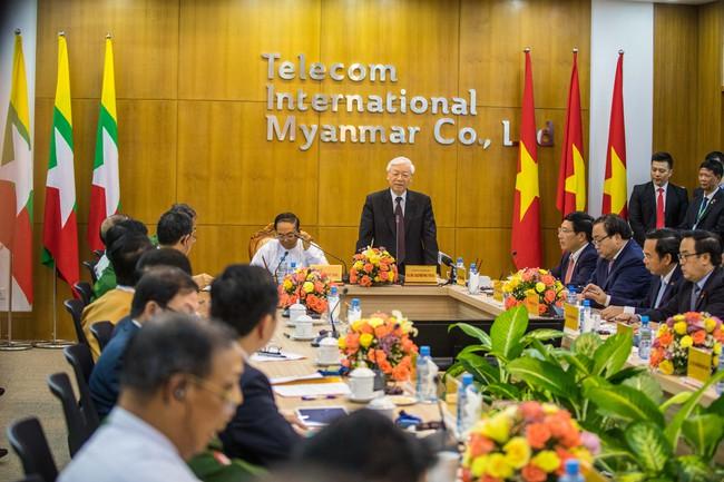 Viettel bắt đầu cung cấp dịch vụ đầu tiên tại Myanmar, chuẩn bị cho khai trương mạng di động 4G