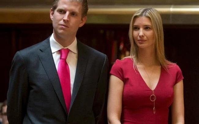 Eric Trump: Chị Ivanka ảnh hưởng tới quyết định không kích Syria của Tổng thống Trump
