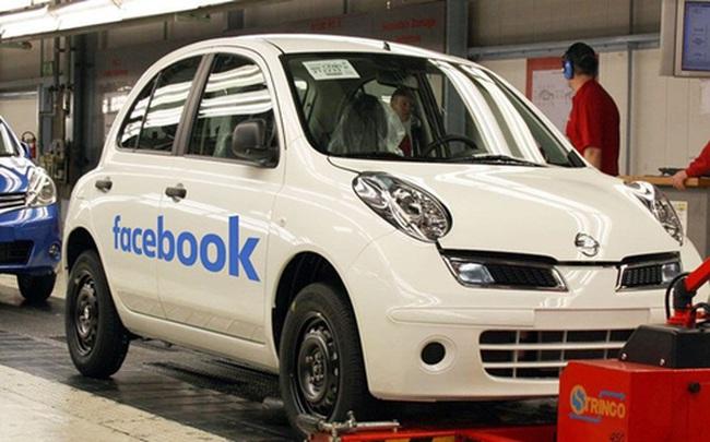 """Facebook gia nhập """"cuộc chơi"""" ôtô"""