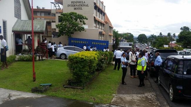 Động đất 7,2 độ Richter ở Fiji, cảnh báo sóng thần
