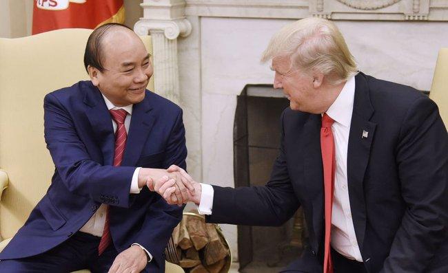 Chùm ảnh: Thủ tướng Nguyễn Xuân Phúc gặp Tổng thống Trump tại Nhà Trắng