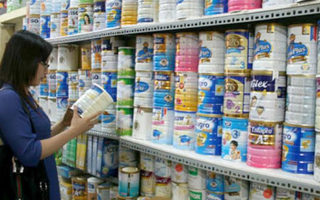 Bắt buộc niêm yết công khai giá sữa bán lẻ