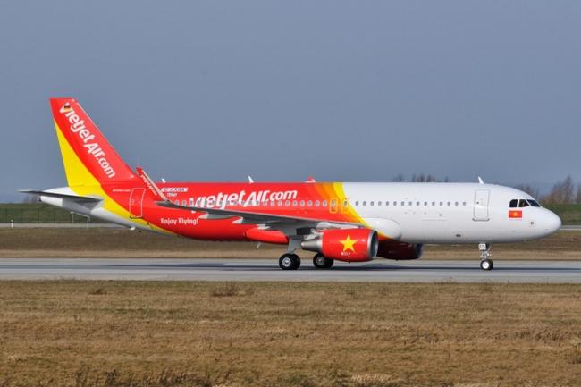 Từ ngày 9-13/8, Vietjet bán 200.000 vé máy bay đi quốc tế giá từ 0 đồng