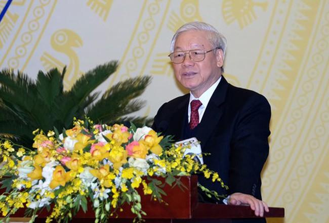 Toàn văn phát biểu của Tổng Bí thư tại Hội nghị của Chính phủ với các địa phương