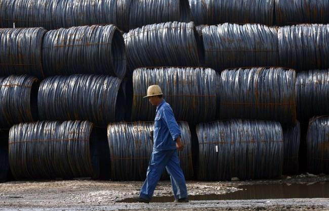 Hơn bốn triệu tấn sắt thép xây dựng Trung Quốc 'đẩy' vào thị trường sắt thép Việt Nam