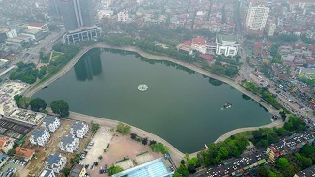 Sau khi lấp sẽ đào thêm 1ha để bù vào diện tích hồ Thành Công, chuyên gia nói chủ đầu tư Ecopark mới chỉ tính phần lợi cho mình