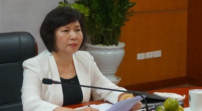 Thứ trưởng Bộ Công thương Hồ Thị Kim Thoa gửi đơn xin thôi việc từ tuần trước