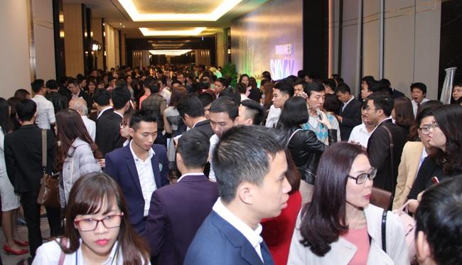 Hơn 1.500 lượt khách hàng tham dự sự kiện ra mắt chính thức dự án Vinhomes Skylake