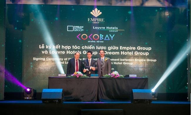 Empire Group hợp tác cùng hai thương hiệu lớn của ngành quản trị khách sạn thế giới