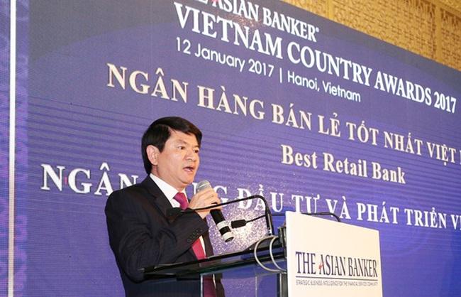BIDV trở thành Ngân hàng bán lẻ tốt nhất Việt Nam 3 năm liên tiếp do The Asian Banker bình chọn