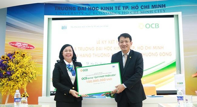 Ngân hàng Phương Đông và trường đại Học Kinh Tế Tp. Hồ Chí Minh ký hợp tác lần 2