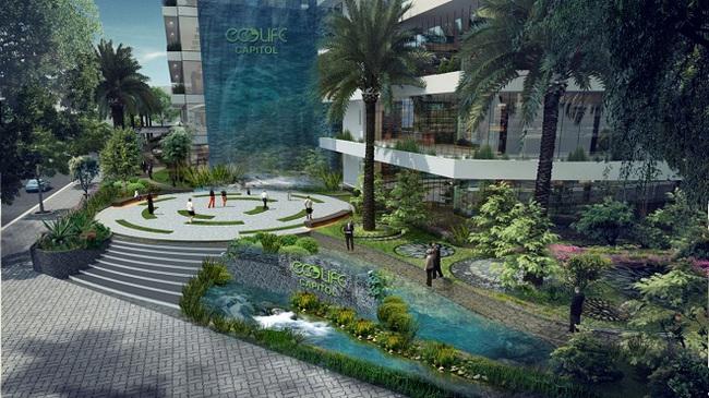 Ấn tượng với không gian xanh ngút ngàn ở Ecolife Capitol