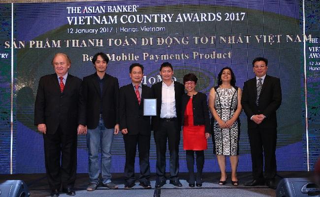 """MoMo đạt giải thưởng """"Sản phẩm thanh toán di động tốt nhất"""" của tạp chíThe Asian Banker"""