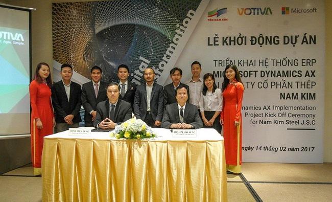 CTCP thép Nam Kim triển khai giải pháp Microsoft Dynamics AX ERP để nâng cao năng suất và hiệu quả kinh doanh