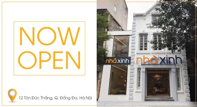 Nhà Xinh chính thức mở cửa hàng thứ 8 tại Tôn Đức Thắng, Hà Nội