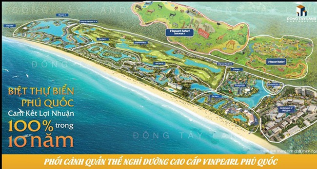 Vingroup ra mắt những căn biệt thự Vinpearl cuối cùng tại Phú Quốc