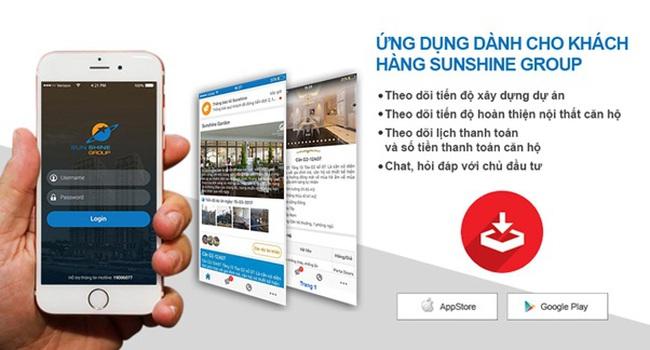 Sunshine Group tặng iPhone  cho khách đã mua nhà để giám sát tiến độ và chất lượng dự án