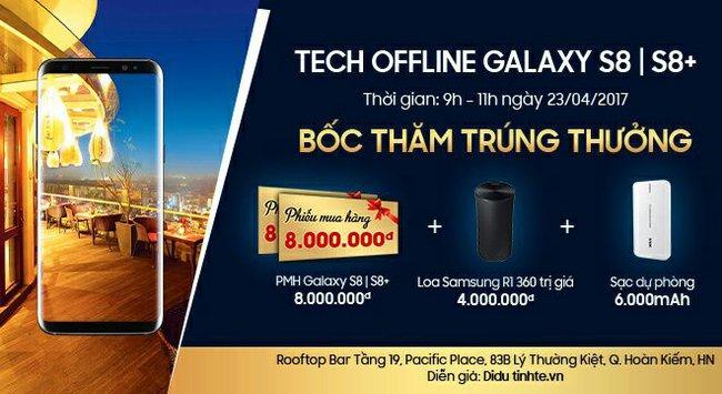 Cùng Viettel Store trải nghiệm trên tay Samsung Galaxy S8/S8 Plus tại Hà Nội, nhận ngay quà tặng hấp dẫn