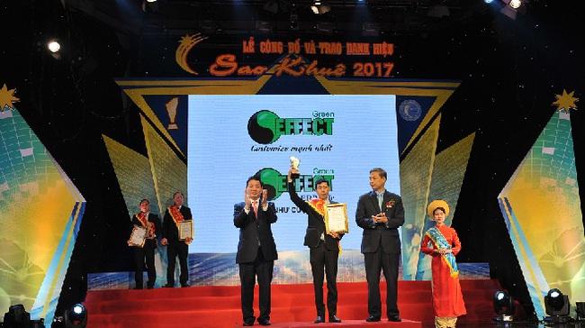 Phần mềm ERP-Life đạt danh hiệu Sao Khuê 2017