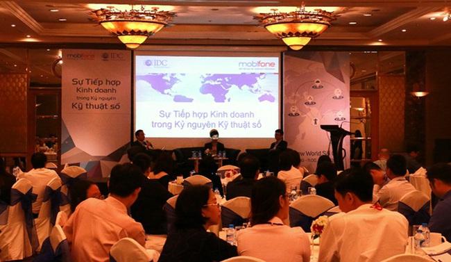 Hội thảo về tiếp hợp kinh doanh trong kỷ nguyên số của MobiFone thu hút hàng trăm người theo dõi