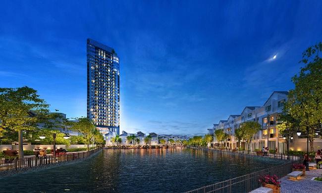 Hồ điều hòa 7.200 m2 – sức hút của FLC Garden City