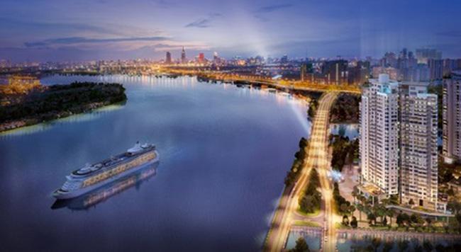 Diamond Island giới thiệu căn hộ 4PN với 3 view sông trực diện độc đáo