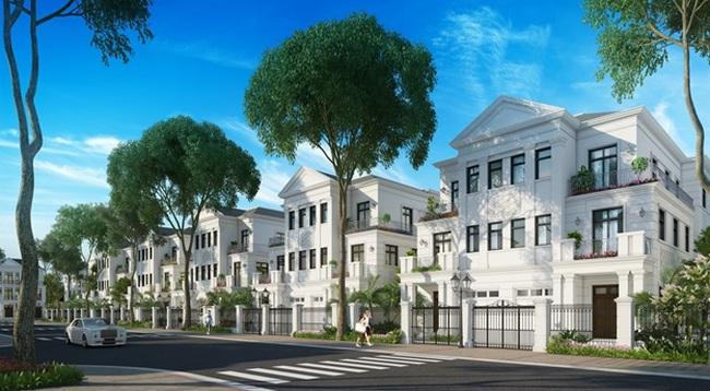 Biệt thự tứ lập lần đầu tiên xuất hiện tại Hà Nội