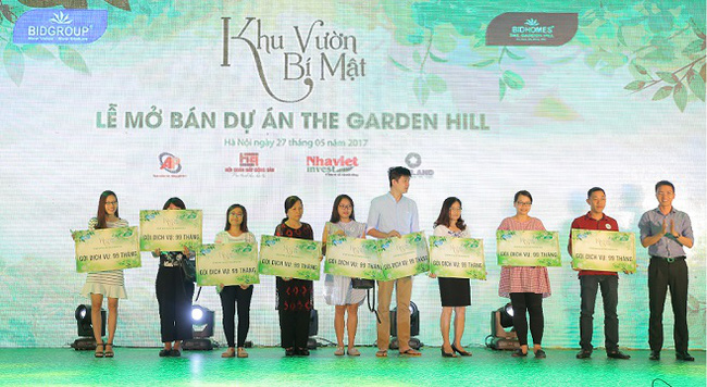 Chiết khấu lên đến 9,99% khi mua căn hộ The Garden Hill - 99 Trần Bình