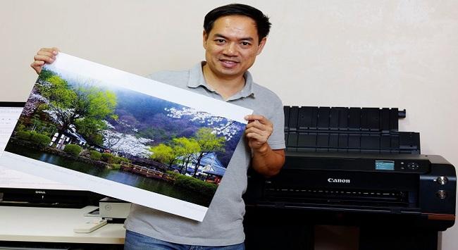 Nhiếp ảnh gia: Chất lượng bản in là điều kiện tiên quyết khi chọn máy in ảnh