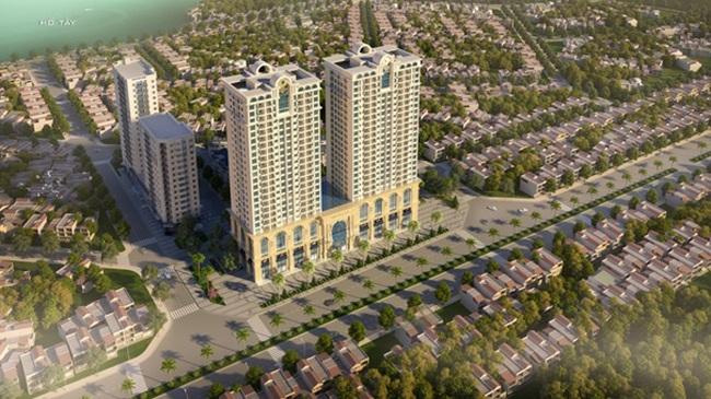 Sun Tower - Sở hữu căn hộ khách sạn view Hồ Tây với giá chỉ từ 2,7 tỷ đồng