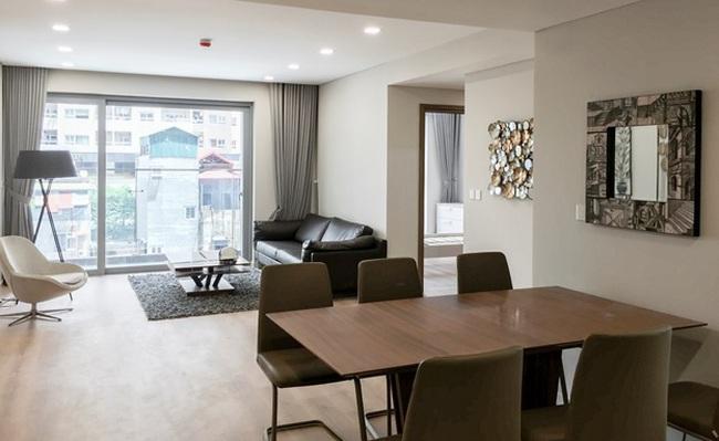 Hà Nội: Xuất hiện dự án hoàn thiện tầng căn hộ thực tế khi đang xây thô