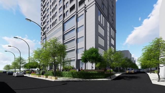 Chào bán căn hộ đã cất nóc giá 1,1 tỷ/căn tại Hoàng Mai