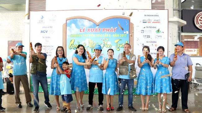 Caravan Thư Viện Hai Mươi Ba Mươi lần Thứ 8 - 2017: Trao Tặng 2 thư viện đạt chuẩn quốc gia tại Quảng Ngãi