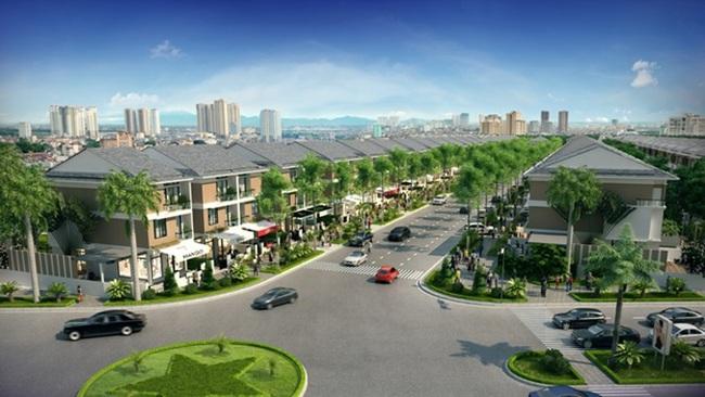 Shop-villa: Mô hình thương mại trong khu đô thị
