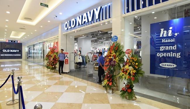 Old Navy khai trương cửa hàng thứ hai tại Hà Nội