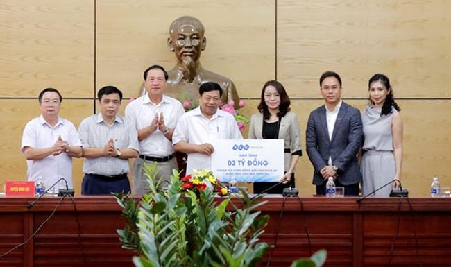 Tập đoàn FLC hỗ trợ 9 tỷ đồng khắc phục hậu quả thiên tai tại miền Trung