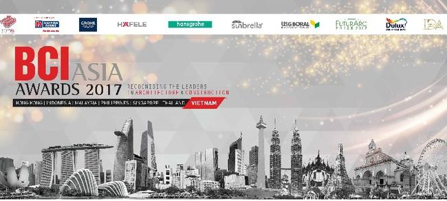BCI ASIA tổ chức lễ trao giải BCI ASIA AWARDS 2017